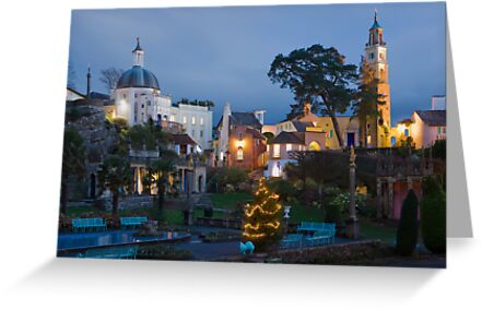Portmeirion village by Rory Trappe