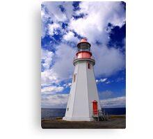 Point Riche Lighthouse Canvas Print