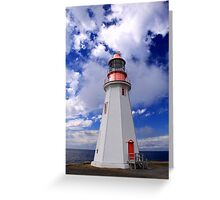 Point Riche Lighthouse Greeting Card