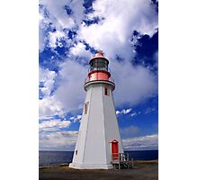 Point Riche Lighthouse Photographic Print