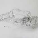 Life Drawing 10 by Mike Paget