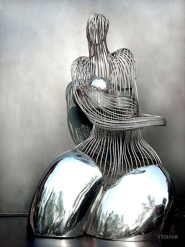 Fine Rhyme In Stainless Steel by rtouve