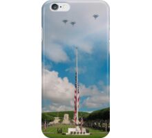 Memorial Day jet fly-over iPhone Case/Skin