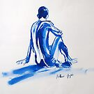 Life Drawing 15 by Mike Paget