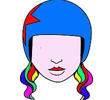 Emme Power The Roller Derby Girl by SmashTokyo