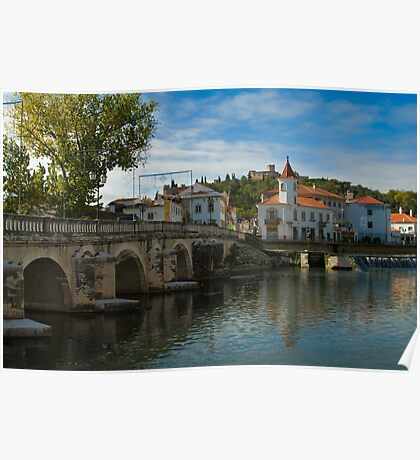 Tomar Town, Portugal. Poster