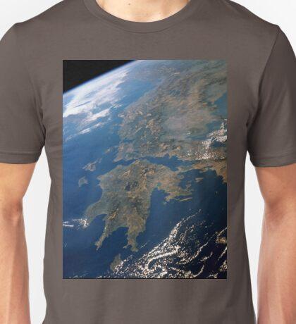 an unbelievable Greece landscape Unisex T-Shirt