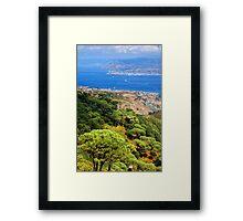 Messina Strait - Italy Framed Print