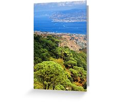 Messina Strait - Italy Greeting Card