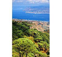 Messina Strait - Italy Photographic Print