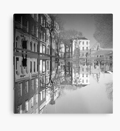 Flooding Wrecks Your Head Metal Print