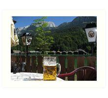 Beer by Königssee Art Print