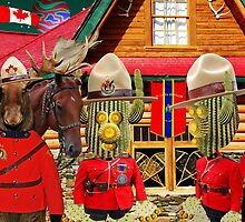 Mounties by Dennis  Roy Smigel