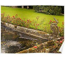 Chillingham Water Garden Poster