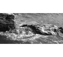 Coastline Rocks - Cornwall  Photographic Print