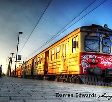 Train Waiting For Passengers by Darren Edwards