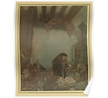 Stories from Hans Andersen - Art by Edmund Dulac - 1911 - 0255 - The Wind's Tale - Waldemar Daa Poster