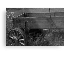 Deserted Wagon Metal Print
