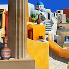 Santorini by Dennis  Roy Smigel