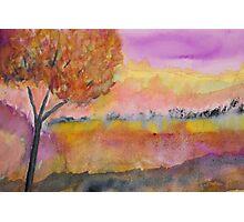 Essence autumnal Photographic Print