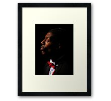 Portrait Of A Voice ~ Part Three Framed Print