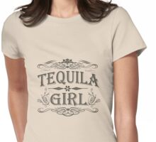 Tequila Girl Womens Fitted T-Shirt