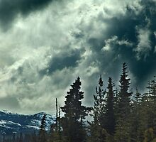Clouds over the Mountains by Jann Ashworth