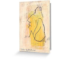 woman  Greeting Card