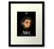 Loki gag the atheist Framed Print