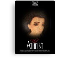 Loki gag the atheist Canvas Print