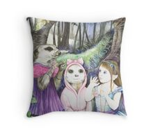 Noises in The Night Throw Pillow