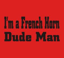 French Horn Baby Tee