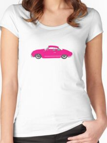 Pink Ghia Women's Fitted Scoop T-Shirt