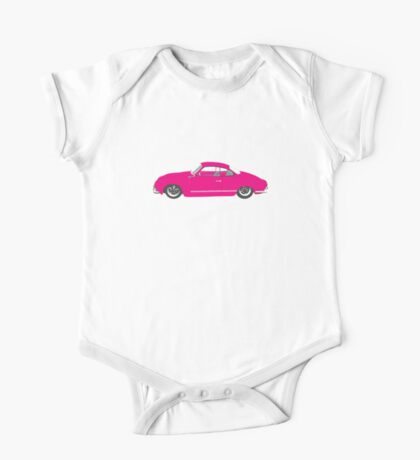 Pink Ghia One Piece - Short Sleeve
