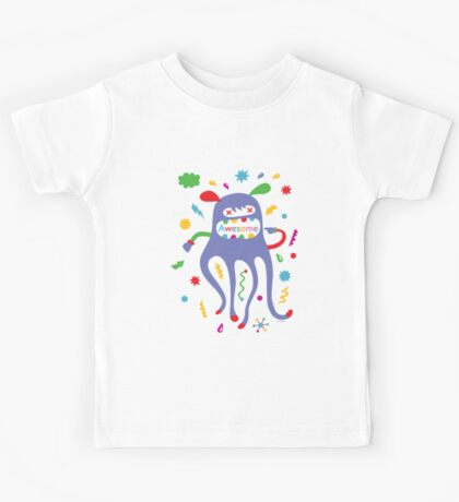 critter awesome - light Kids Clothes