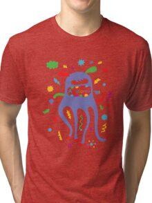 critter awesome - light Tri-blend T-Shirt
