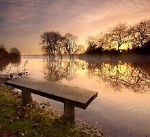 A bench with a view. by Andrew Leighton
