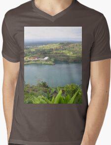 an awe-inspiring Liberia landscape Mens V-Neck T-Shirt