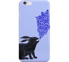 Rabbit Sings the Blues iPhone Case/Skin