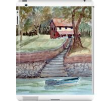 Lakefront Property - Watercolor iPad Case/Skin