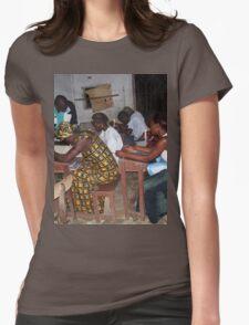 an inspiring Liberia landscape Womens Fitted T-Shirt