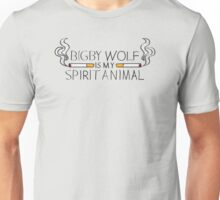 Bigby Wolf is My Spirit Animal Unisex T-Shirt