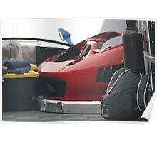 Ferrari Front Clip Poster