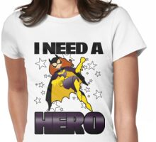 I Need a Batgirl Womens Fitted T-Shirt