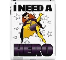 I Need a Batgirl iPad Case/Skin