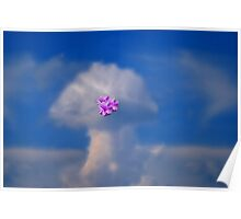Clouds Above Poster