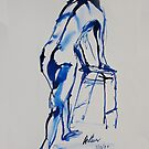 Life Drawing 14 by Mike Paget