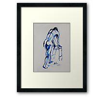 Life Drawing 14 Framed Print