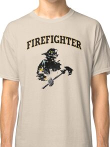 Brush with a Firefighter Classic T-Shirt