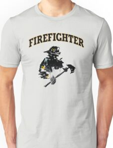 Brush with a Firefighter Unisex T-Shirt